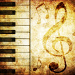Royalty-Free Stock Photo: Musical background