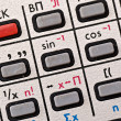 Stock Photo: Calculator pad
