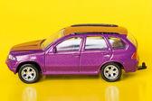 Purple car — Stock Photo