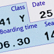 Royalty-Free Stock Photo: Boarding pass