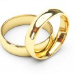 GOLD WEDDING RINGS — Stock Photo #1372751
