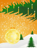 Navidad background11 — Vector de stock