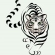 Tigre — Vector de stock  #1912801