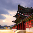 Stock Photo: Koretraditional architecture