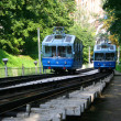 Stock Photo: Railway funicular in Kiev, Ukraine