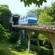 Railway funicular in Kiev, Ukraine — Stock Photo