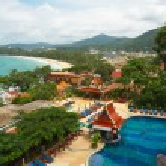 Thailand, phuket island. Aerial view — Stock Photo