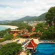 Stock Photo: Thailand, phuket island. Aerial view