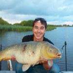 Trophey carp — Stock Photo