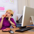 Lazy secretary — Stock Photo #1394139