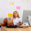 Sexy Secretary — Stock Photo #1394225