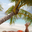 Luxury Holidays. Paradise! - Stock Photo