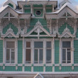 Stock Photo: RussiWooden historical building