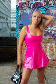 Pink Blonde. — Stock Photo