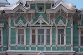 Russian Wooden historical building — Stock Photo