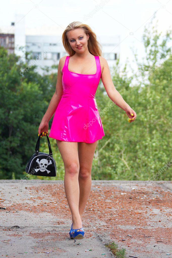 Фото розовая блондинка 11 фотография