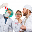 Doctors consulatation. Isolated. — Stock Photo