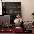 Stockfoto: Successful director in office