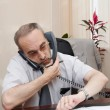 Stock Photo: Office. Director. Phone call