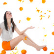 I wanna Orange Fresh! - Stock fotografie
