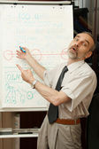 Interesting business lecture. Wow! — Stock Photo