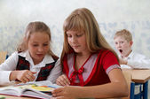 Elementary school. Learning process — Stock Photo