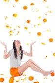 I wanna Orange Fresh! — Stock Photo