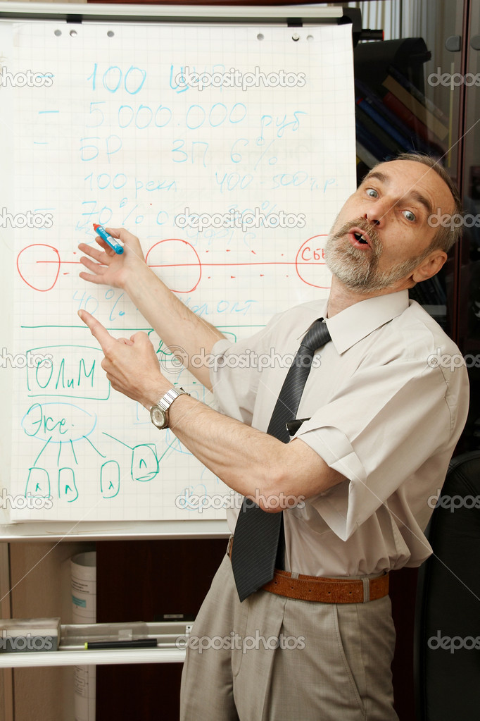 Interesting business lecture, So attractive!  Stock Photo #1401139