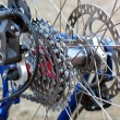 Mountain Bike rear wheel — Stock Photo #1402165