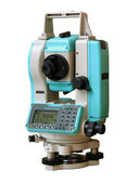Total station nik — Stock Photo