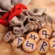 Runes close-up — Stock Photo #1427247