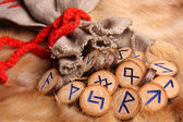 Runes close-up — Stock Photo