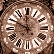 Antique clock — Foto Stock