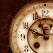 Vintage clock - Stockfoto