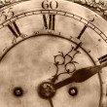 vieille horloge — Photo