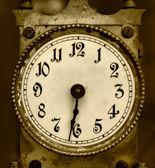 老铁时钟 — 图库照片