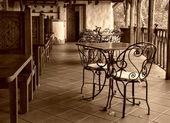 Empty cafe — Stock Photo