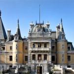 Massandra palace of Alexander III — Stock Photo
