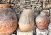 Ancient greek jugs — Stock Photo