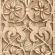 Old marble bas-relief - Stock Photo