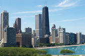 View of Chicago — Stock Photo