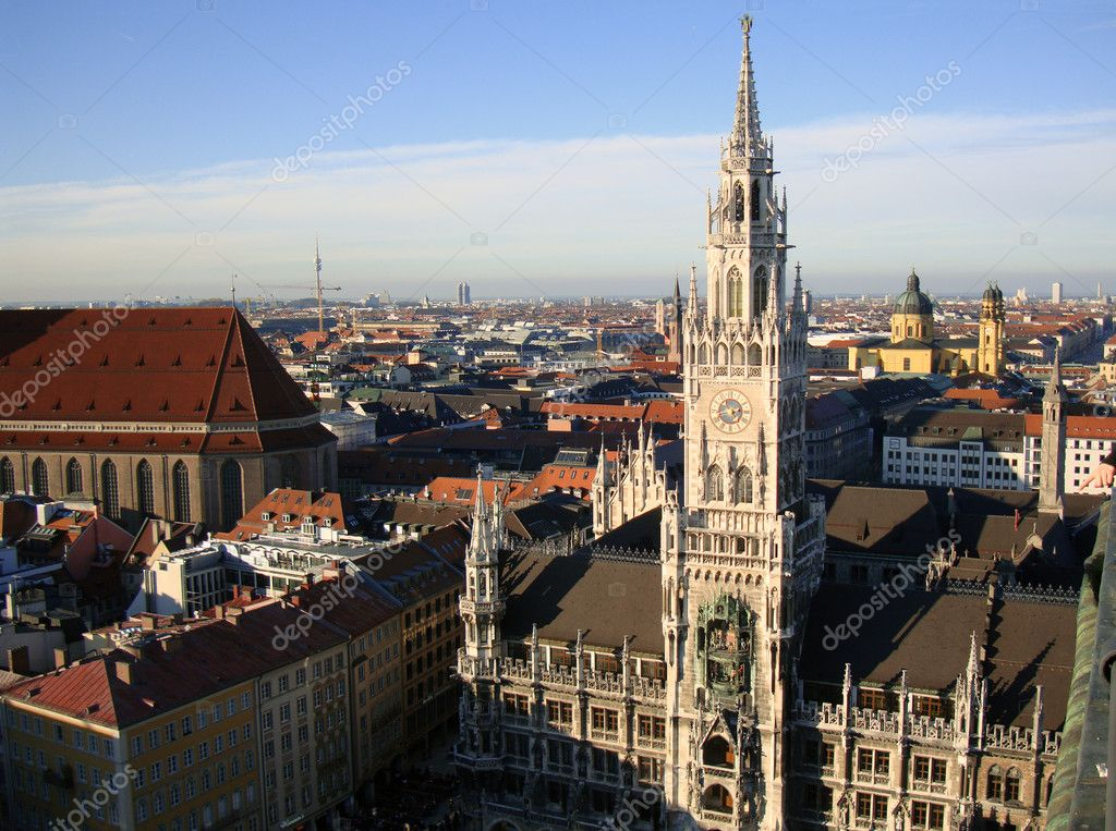 View of Munich                           — Stock Photo #1487167