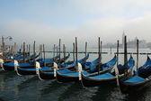 Venice gondolas — Stock Photo