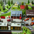 Stock Photo: Small toy city