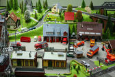 Small toy city — Stock Photo