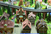 Small toy city — Stock Photo