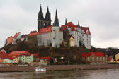 Castle in Meissen — Stock Photo