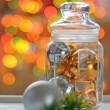 New Year's Holiday decor - Stock Photo