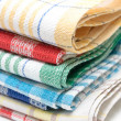 Stock Photo: Linen kitchen towels