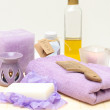 Tools for body care in the spa salon — Stock Photo